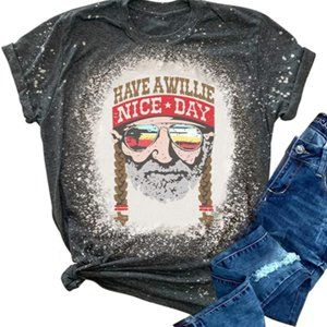Have A Willie Nice Day Country Western Graphic Tee
